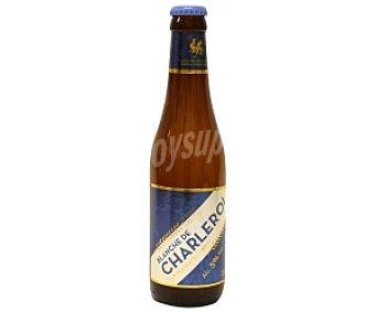 BLANCHE DE CHARLEROI Cerveza de trigo Botella de 33 centilitros