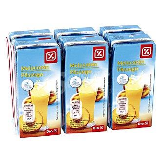 DIA Néctar light melocotón pack 6 unidades 200 ml Pack 6 unidades 200 ml