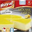 Pastel mousse sabor limón Caja 207 g Royal