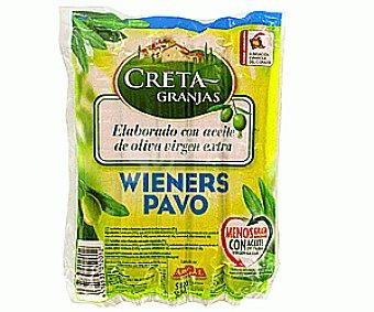 Creta Granjas Salchicha wiener pavo bolsa 200GR