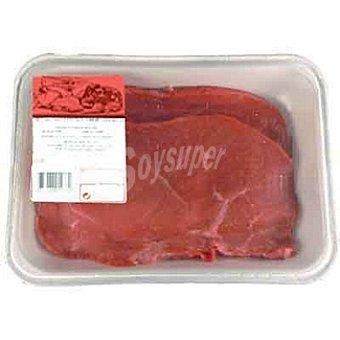 Ternera 1ª A babilla/cadera en filetes peso aproximado bandeja 400 g