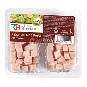 TRONCO BRETAN Daditos de pavo envase  2 unidades de 75 gr