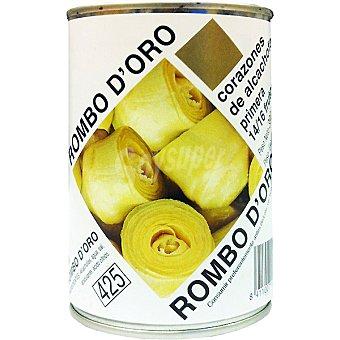 ROMBO D'ORO Alcachofas 14-16 piezas Lata 240 g neto escurrido
