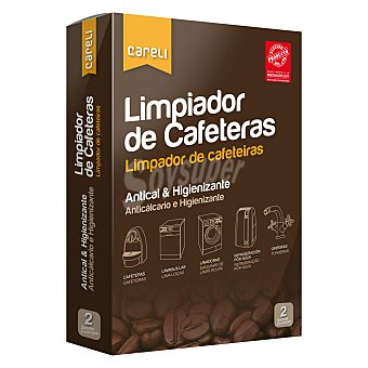 Careli Limpiador de cafeteras Pack 2x100 ml