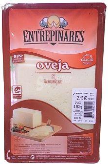 Entrepinares Queso barra lonchas oveja Paquete 220 g peso aproximado