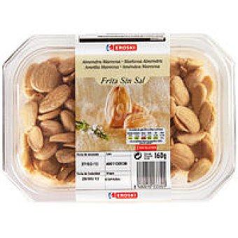 Eroski Almendras marconas fritas sin sal Tarrina 160 g