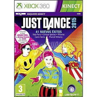 XBOX 360 Videojuego Just Dance 2015  1 unidad