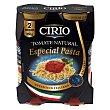 Tomate natural especial pasta Pack de 2 tarros de 350 g Cirio