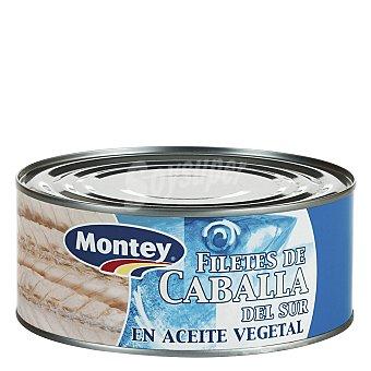 MONTEY Filetes de caballa del sur en aceite vegetal 650 g