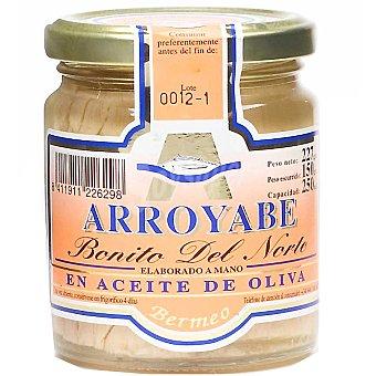 Arroyabe Bonito del norte en aceite de oliva (elaborado a mano) Frasco 150 g