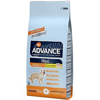 Advance Affinity Alimento de alta gama para perros adultos de raza grande rico en pollo y arroz Maxi Adult Bolsa 14 kg