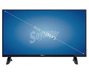 "Selecline Televisión 80,01 cm (31,5"") LED LE-32D11 HD ready, TDT HD, USB reproductor, 2HDMI, 50HZ HD ready, TDT HD, USB reproductor, 2HDMI, 50HZ"