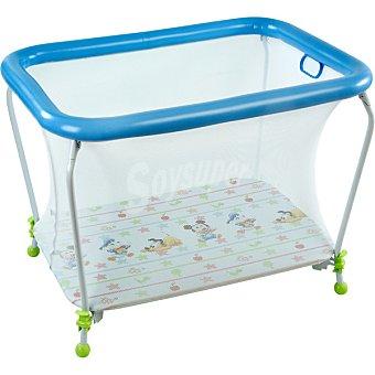 PLASTIMYR 936 Parque rectangular para bebé con malla fina