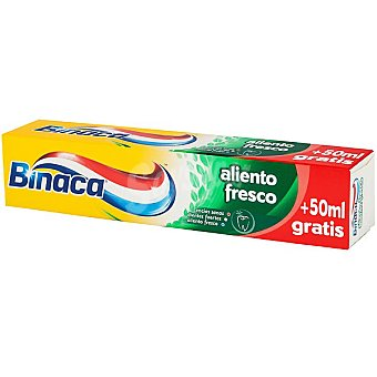 Binaca Pasta dentífrica aliento extra fresco Tubo 75 ml