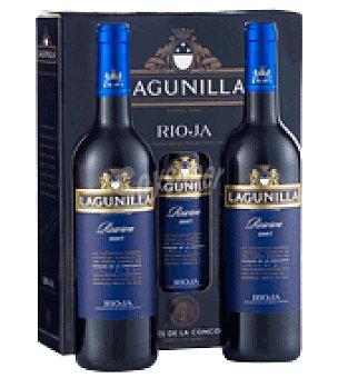 Lagunilla Estuche de vino tinto reserva D.O. Rioja pack de 3x75 cl