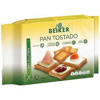 Beiker pan tostado sin gluten Envase 166 g