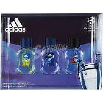 Adidas Man Edt50 X 3 Variantes
