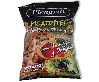 Picagrill Picatostes con aceite de oliva tomate y orégano 75 gramos