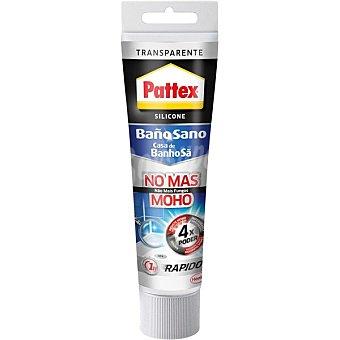 Pattex Silicona No mas Moho para baño transparente  tubo 50 ml