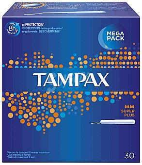 Tampax Tampón super plus con aplicador Caja de 30 u