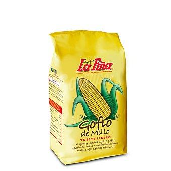 La Piña Gofio de maíz crudo Bolsa 500 g