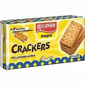 Recondo Crackers integrales Paquete 250 g