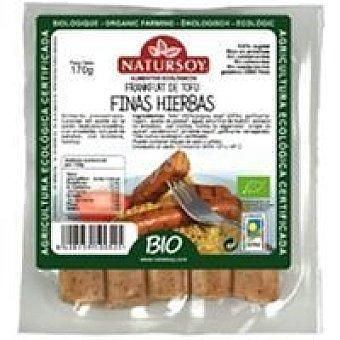 Natursoy Frankurt de tofu a las finas hierbas Bandeja 170 g