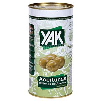 YAK aceituna rellena de anchoa lata 600 gr