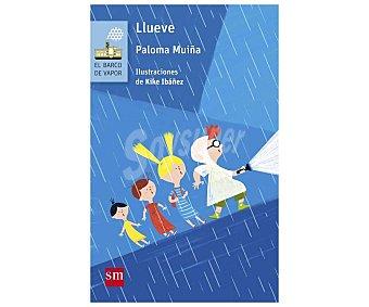 Editorial SM Libro Llueve, paloma muiña. Género: infantil. Editorial El barco de vapor azul