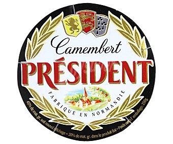 President Queso camembert entero Caja 250 g