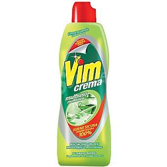 VIM CLOREX Limpiador multiusos en crema aroma limón Botella 750 ml