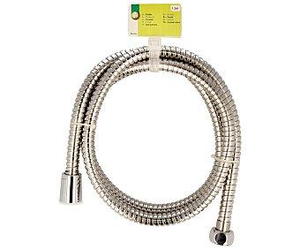 Productos Económicos Alcampo Flexo de acero para baños de 1,5 Metros 1 Unidad