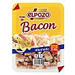 tiras de bacon ahumado natural pack 2 envases 55 g ElPozo