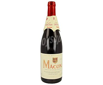 MÂCON Vino tinto francés Botella de 75 cl