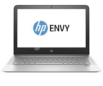 """HP Ordenador portátil con pantalla de 13,3"""", procesador: Intel Core i5-6200U, Ram: 8GB, almacenamiento: 256 ssd, gráfica: Intel HD 520, altavoces Bang & Olufsen, Windows 10. Peso: 1,36Kg. Color plata envy 13-d002ns"""