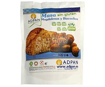 ADPAN Masa para magdalenas y bizcochos sin gluten 500 g