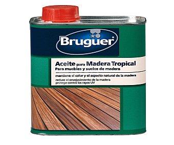 BRUGUER Aceite para maderas tropicales 75 centilitros