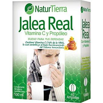 NaturTierra Jalea real con vitamina C y propóleo envase 225 g Envase 225 g