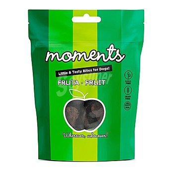 Moments Grain free snacks semihúmedos para perros con frutas Envase 60 g