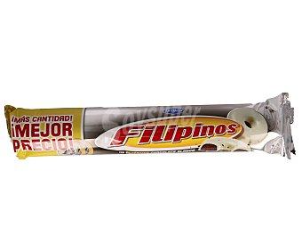 FILIPINOS roscos de galleta con chocolate blanco paquete 185 g
