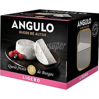 Angulo Queso de autor fresco de Burgos ligero Pack 2 envase 150 g