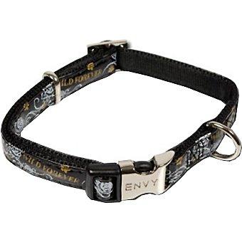 Nayeco Colección Envy Wild for ever collar para perro color negro medidas 20-30 cm x 1 cm 1 unidad
