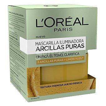 L'Oréal Mascarilla iluminadora Arcillas puras 50 ml