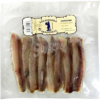 SALAZONERA ARAGONESA Sardinas bolsa 145 g 8 unidades