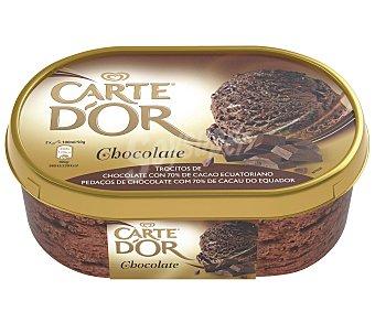 FRIGO CARTE D'OR Helado de chocolate 70% cacao procedente de Ecuador Tarrina 1 l