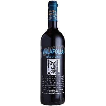 MALAFOLLA Vino tinto joven Alpujarra D.O. Granada botella 75 cl Botella 75 cl
