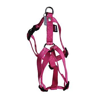 Martin Sellier Arnés de nylon para perros color rosa medidas 10mm-25-35cm 1 unidad