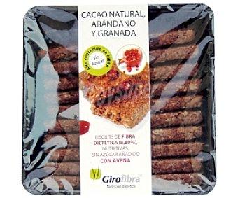 Galletas de cacao natural, arandano y granada 100 GR