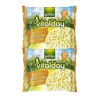 Gullón Tortitas de maiz Vitalday 108,8 g
