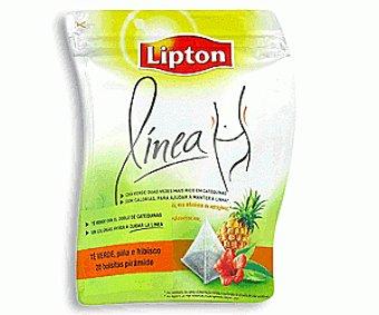 Lipton Té Verde con Hibisco y Piña 46g